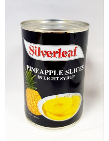 SILVERLEAF PINEAPPLE SLICES IN LIGHT...
