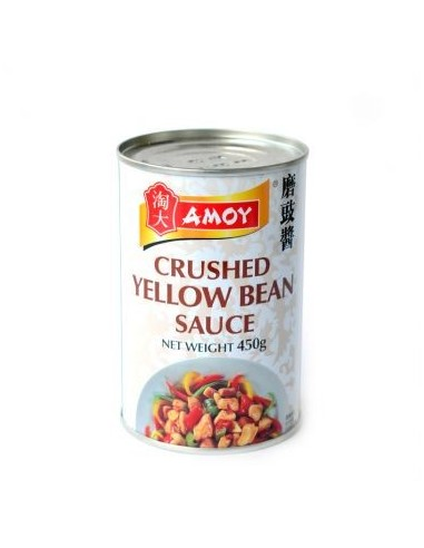 Crushed Yellow Bean Sauce - 450g - Amoy