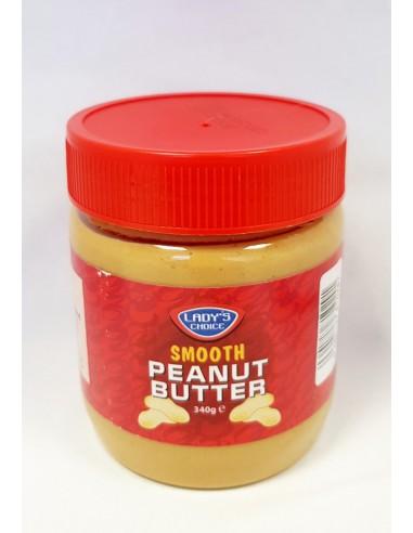 LADY'S CHOICE SMOOTH PEANUT BUTTER -...