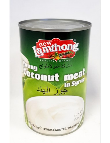 NEW LAMTHONG YOUNG COCONUT MEAT IN...