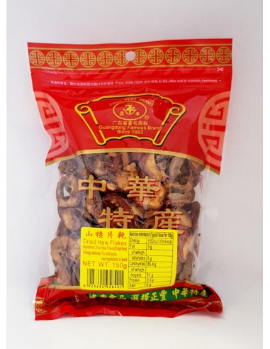 ZHENG FENG DRIED HAW FLAKES - 150g