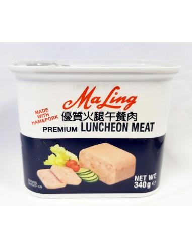MA LING PREMIUN LUNCHEON MEAT - 340g