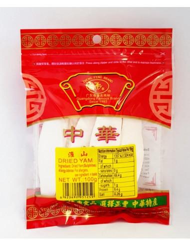 ZHENG FENG DRIED YAM - 100g