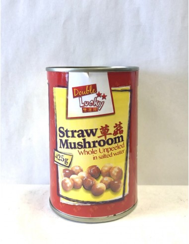 DOUBLE LUCKY STRAW MUSHROOM WHOLE...