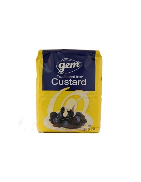 Packet Custard Powder - 3kg - Gem