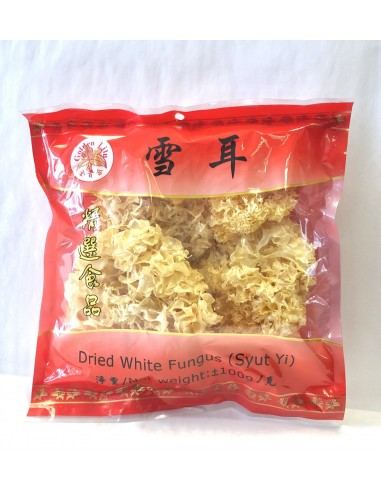 GOLDEN LILY DRIED WHITE FUNGUS -100g