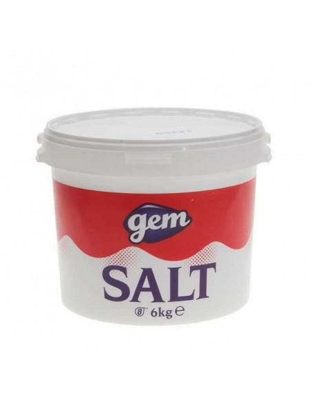 Table Salt - 6kg - Gem