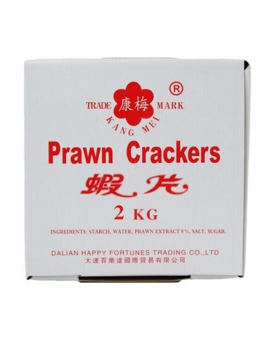 KANG MEI PRAWN CRACKERS - 2kg