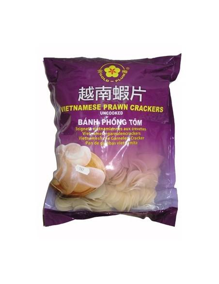 Prawn Crackers - 2kg - Gold Plum