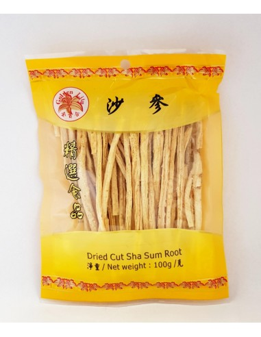 GOLDEN LILY DRIED CUT SHA SUM ROOT -...