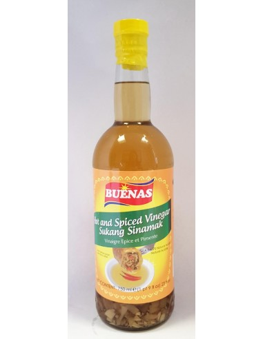 BUENAS HOT AND SPICED VINEGAR - 750ml