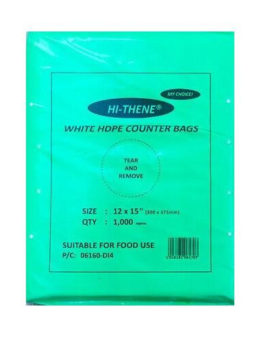 12X15'' WHITE FREEZER BAG 500