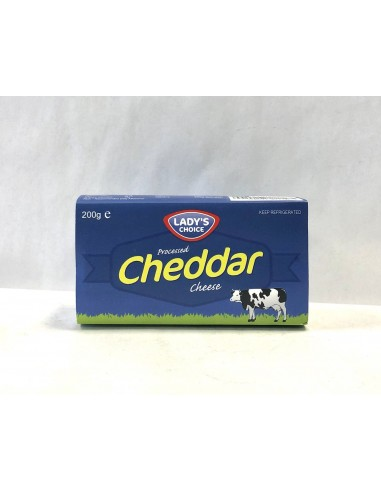 LADY'S CHOICE PROCESSED CHEDDAR...
