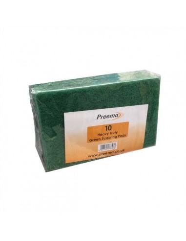 PREEMA H/D GREEN SCOURING PAD