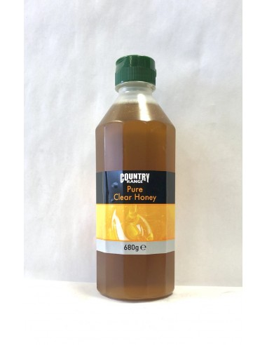 COUNTRY RANGE PURE CLEAR HONEY - 680g