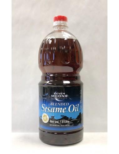 SEVEN MOONS BLENDED SESAME OIL - 1.8L