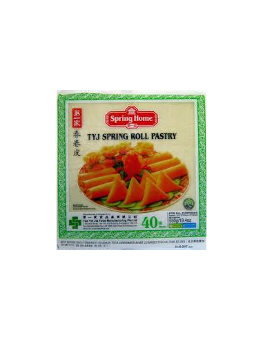 TYJ SPRING ROLL PASTRY 8.5'' - 40S