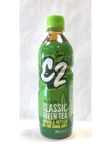 C2 GREEN TEA - REGULAR FLAVOUR 500ml