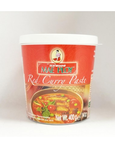 MAE PLOY RED CURRY PASTE - 400G