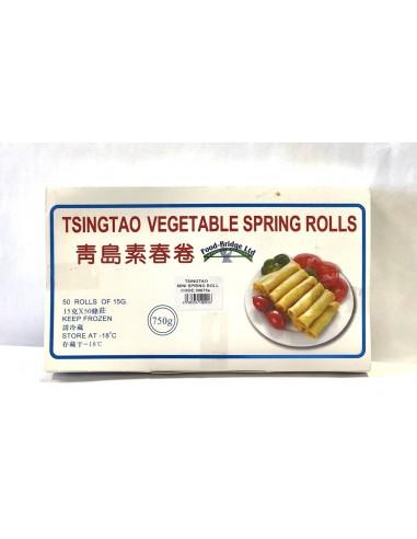 TSINGTAO VEGETABLE SPRING ROLLS - 50...