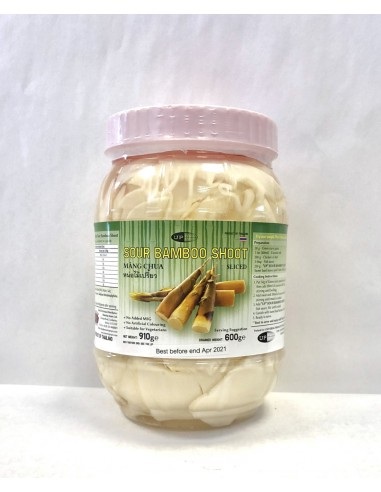 UP SLICED SOUR BAMBOO SHOOT - 910G