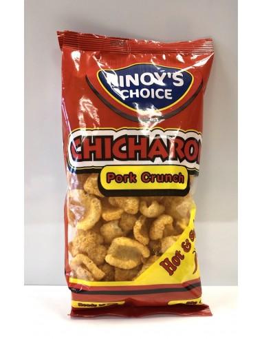 Pork Crunch Hot & Spicy - 80g - Pinoy's