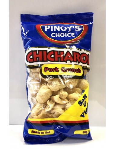 Pork Crunch Salt & Vinegar - 80g -Pinoy's