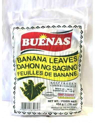 BUENAS BANANA LEAVES - 454g