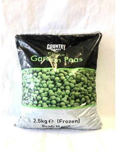 COUNTRY RANGE CHOICE GARDEN PEAS - 2.5KG