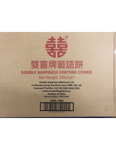 DOUBLE HAPPINESS FORTUNE COOKIES -...