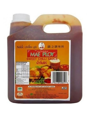 MAE PLOY SWEET CHILLI SAUCE - 4KG
