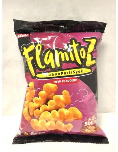 FLAMITOZ HOT SQUID FLAVOURED CORN...