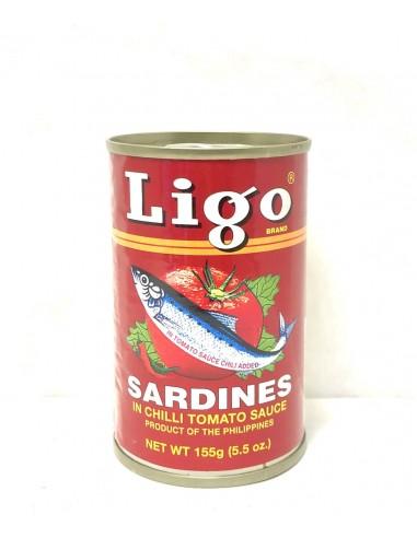 LIGO SARDINES IN CHILLI TOMATO SAUCE...