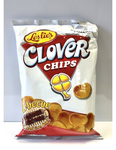 LESLIE'S CLOVER CHIPS BARBECUE - 85g