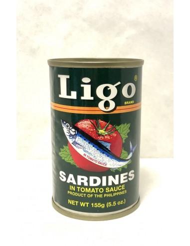 LIGO SARDINES IN TOMATO SAUCE - 155g
