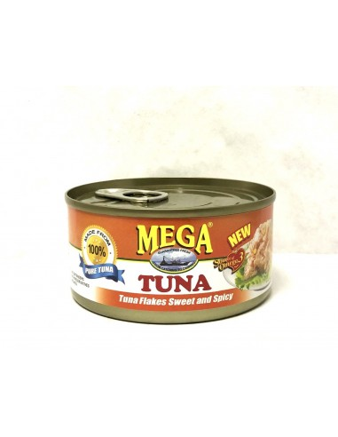 MEGA TUNA FLAKES SWEET AND SPICY - 180g