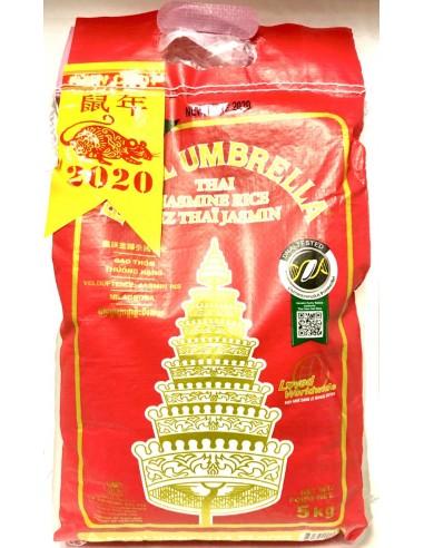 ROYAL UMBRELLA THAI JASMINE RICE - 5kg
