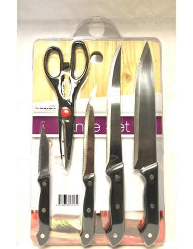 PRIMA KITCHENWARE KNIFE SET