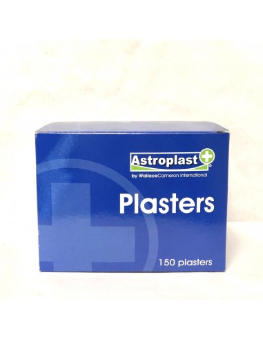 ASTROPLAST BLUE BOX PLASTERS - 150 PCS