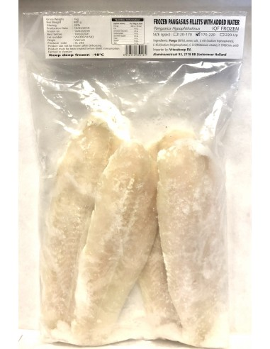 FROZEN PANGASIUS FILLETS WITH ADDED...
