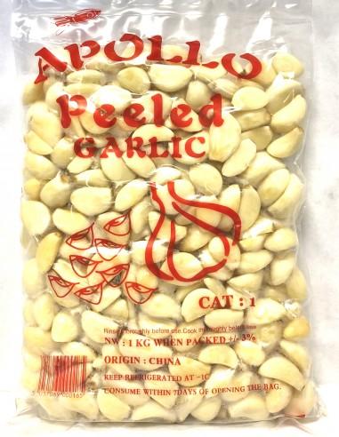 FRESH PEELED GARLIC - 1kg