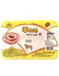 HONG'S LAMB SLICE - 400g