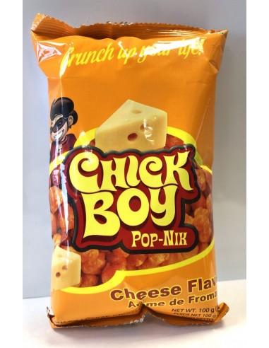 CHICK BOY POP NIK CHEESE FLAVOUR - 100g