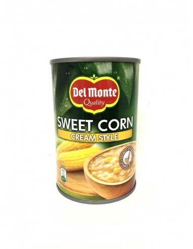 DEL MONTE SWEET CORN CREAM STYLE - 425g