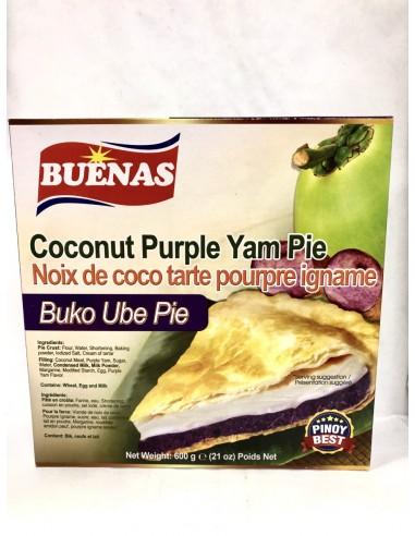 BUENAS COCONUT PURPLE YAM PIE - 600g