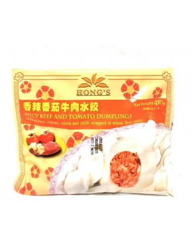 HONG'S SPICY BEEF & TOMATOES DUMPLING...
