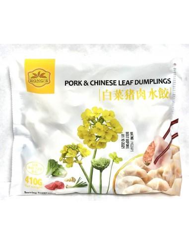 HONG'S PORK & CHINESE LEAVES DUMPLING...