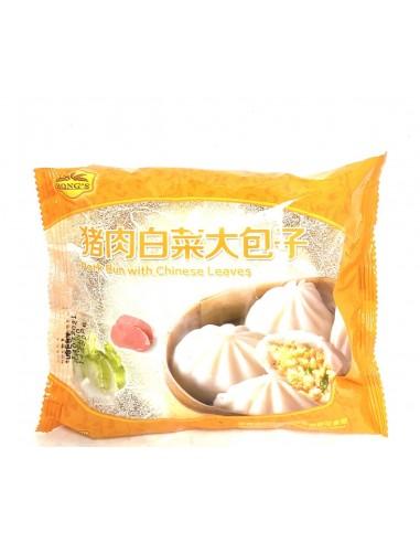 PORK & CHINESE LEAVES BUN LARGE - 145g