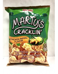 OISHI MARTY'S CRACKLIN'...