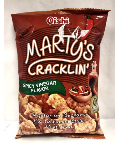 OISHI MARTY'S CRACKLIN' SPICY VINEGAR...